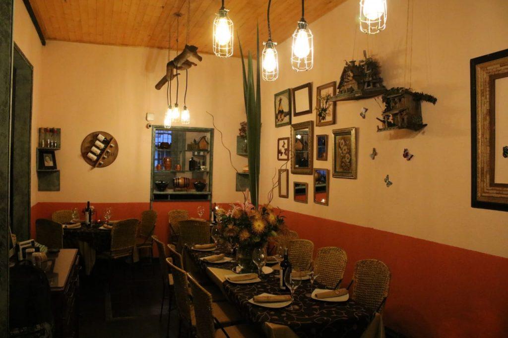 Restaurante en Bogotá. Cenas Románticas. Carne de Avestruz.